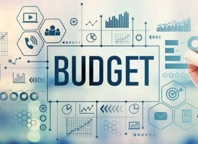 Budget sign